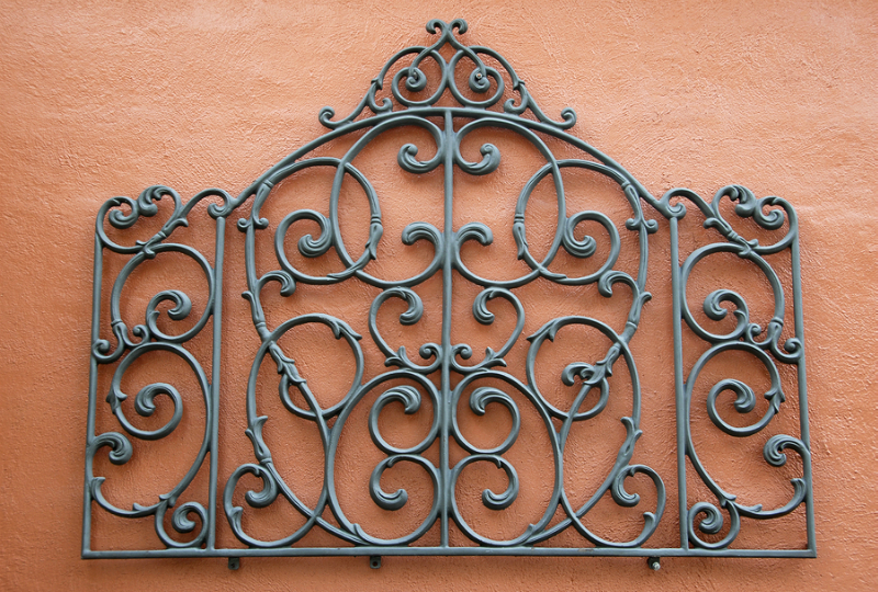 Abstract Wrought Iron
